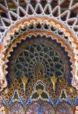 在东方样式的装饰archs 库存图片
