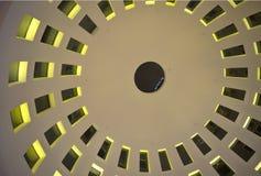 在东方样式的轻的米黄穹顶 免版税库存照片