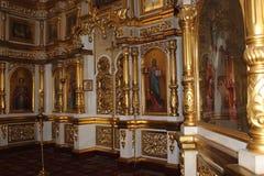 在东正教里面的象 库存图片