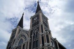 在东部的哥特式天主教泰国 免版税库存图片