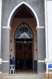 在东部的哥特式天主教泰国 库存图片