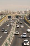在中午时间的Emam阿里高速公路 库存图片