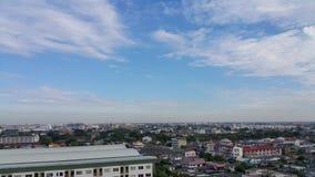 在中午的都市风景 图库摄影