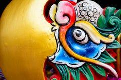 在中国寺庙泰国1的龙 免版税库存照片
