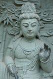 中国雕塑 库存照片