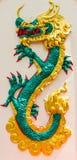在中国寺庙的龙 免版税库存图片