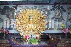 在中国寺庙的Godness 免版税库存图片