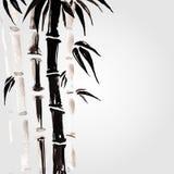 在中国式的竹子 免版税库存照片