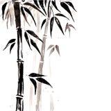 在中国式的竹子 向量例证