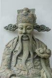 在中国式的雕象在Wat Pho Kaew,曼谷,泰国 库存图片