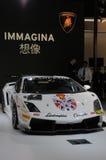 在中国式的Lamborghini汽车 免版税库存图片