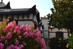 在中国房子外面 图库摄影