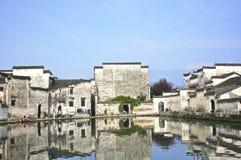 在中国村庄 免版税库存照片