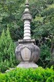在中国的南部的佛教塔 库存图片