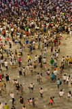 在中国的开头场面的沃尔码 图库摄影