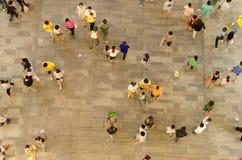 在中国的开头场面的沃尔码 免版税库存照片