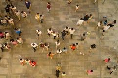 在中国的开头场面的沃尔码 免版税库存图片