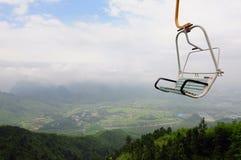 在中国2的缆车 免版税图库摄影