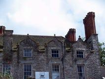 在中央干草的大厦在Y形支架,英国 免版税库存照片