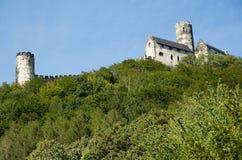 在中央波希米亚防御Bezdez,捷克共和国 免版税库存图片