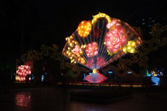 在中秋节的灯笼 库存照片