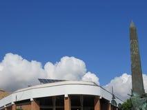 在丰希罗拉市场大厅的云彩 库存图片