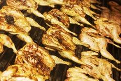 在串烤的肉 库存照片