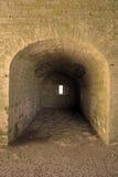 在乌贼属口气的堡垒墙壁 图库摄影