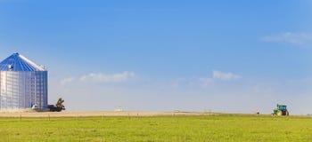在乔治不列颠哥伦比亚省王子的农业 图库摄影