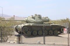 在乔治S巴顿博物馆的坦克在加利福尼亚 免版税图库摄影