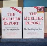 在书店的米勒报告 图库摄影