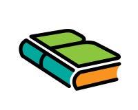在书的教育。 免版税库存照片