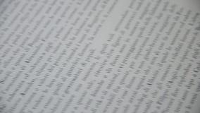 在书页的婚戒 股票录像