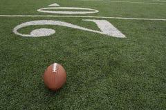 在二十附近的橄榄球 免版税库存图片