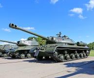 在二战期间的苏联坦克 库存图片
