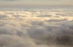在云彩之上 免版税图库摄影