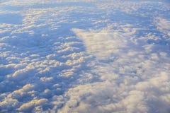 在云彩之上 库存照片