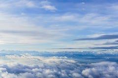 在云彩之上 免版税库存图片