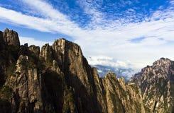 在云彩山之上 免版税图库摄影