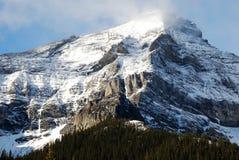 在云彩山雪附近 库存照片