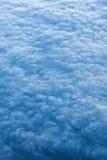 在云彩日落之上 免版税库存照片