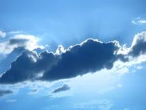 在云彩星期日之后 免版税库存照片