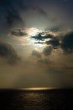 在云彩星期日之后 库存照片