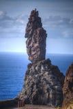 在云彩海岛山路tenerife之上 库存图片