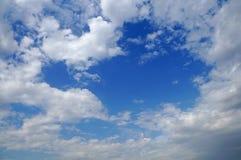 在云彩的爱 免版税库存图片
