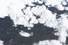 在云彩,高处 免版税库存照片