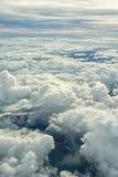 在云彩3上 库存图片