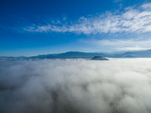 在云彩04的天空 免版税库存照片