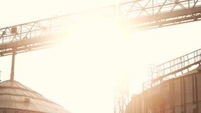 在五谷工厂的全景视图 影视素材