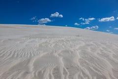 在亚特兰提斯的白色沙子 库存照片
